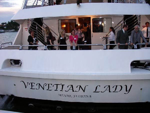 Venetian Lady yacht ready for guests to enjoy