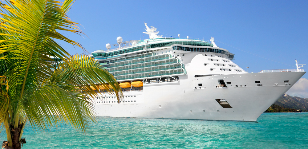 Cruise Liner in the Caribbean