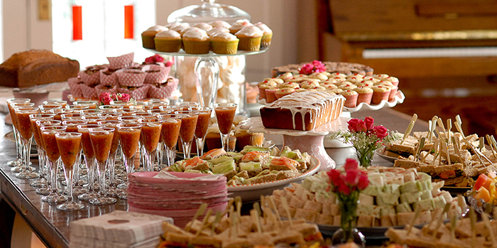Dessert Table with plenty of choices
